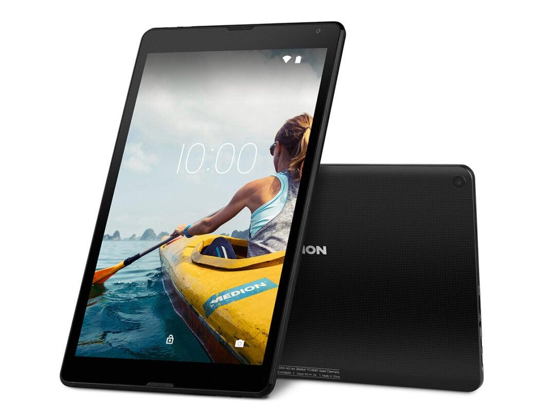 Front und hinten perspektive MEDION E10530 Tablet