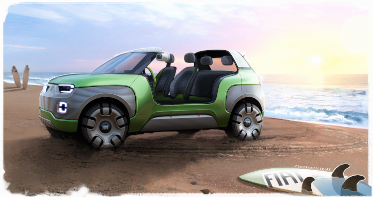 Fiat Concept Centoventi als Beach Buggy