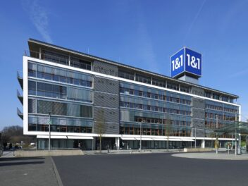 Der 1&1 Firmensitz in Montabour