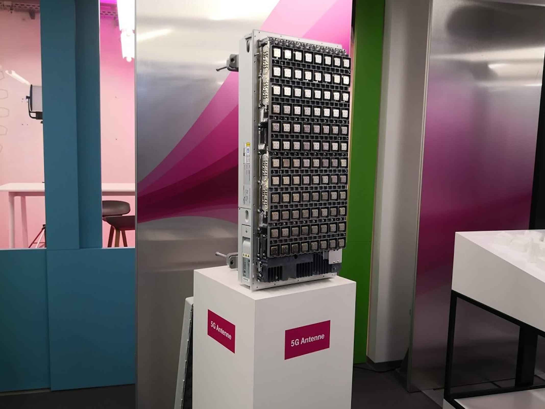 5G-Antenne der Telekom