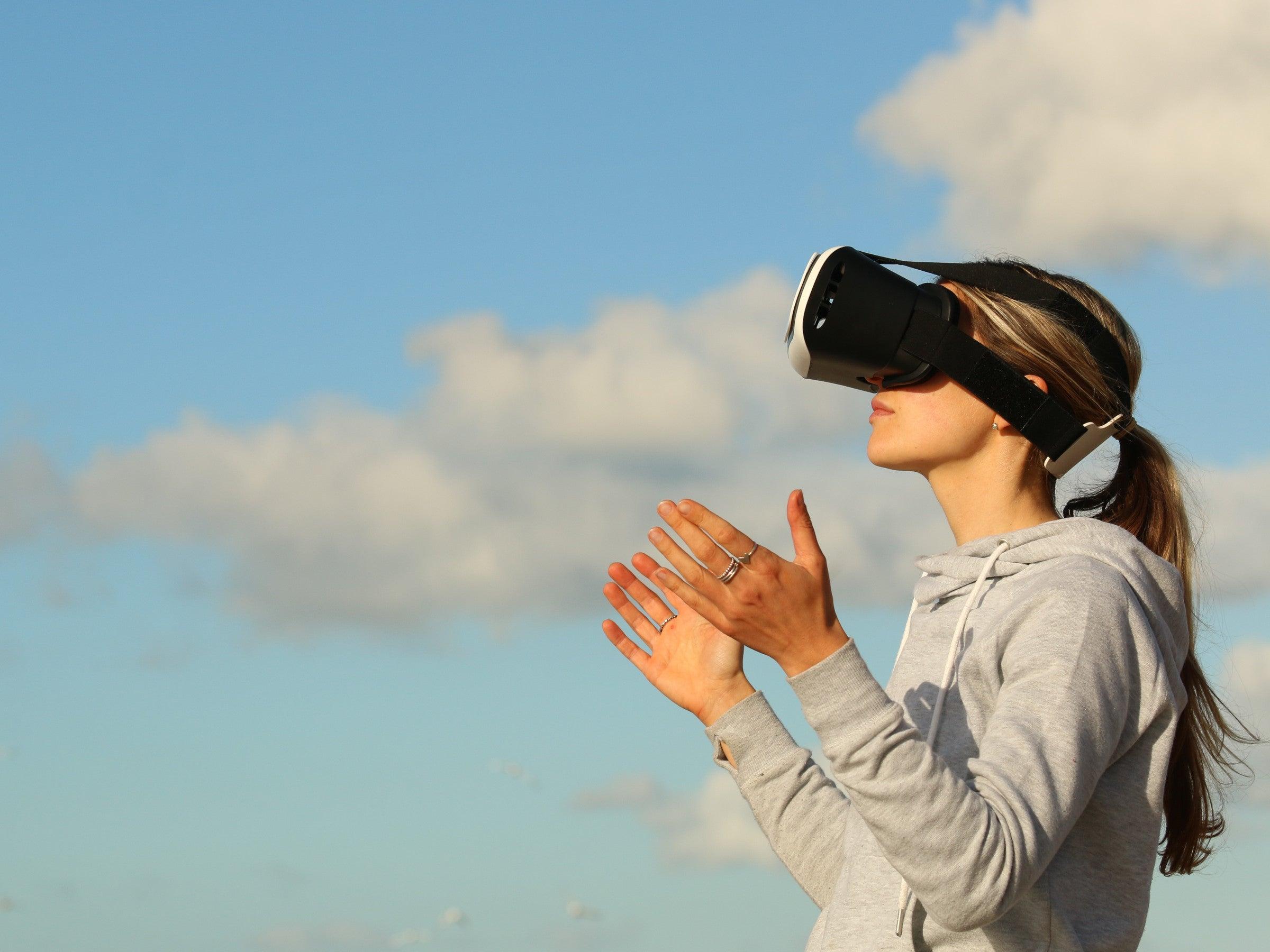 5G AR VR Symbolfoto