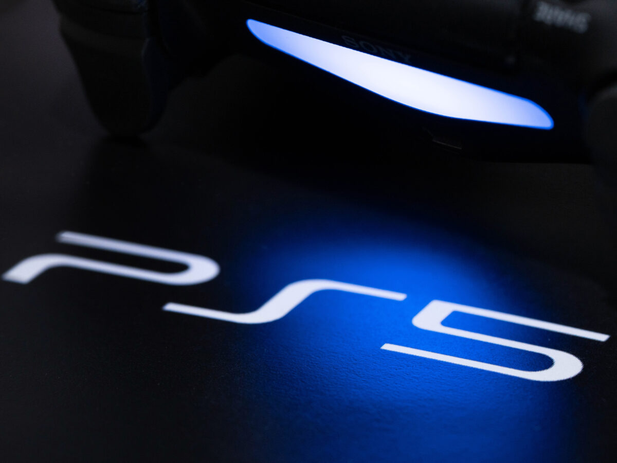 PlayStation 5 Logo mit Controller