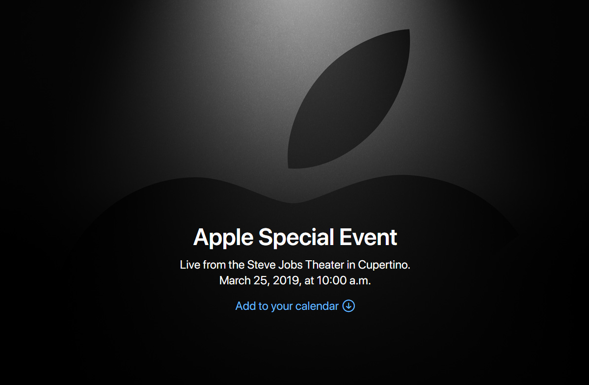Apple - It's show time