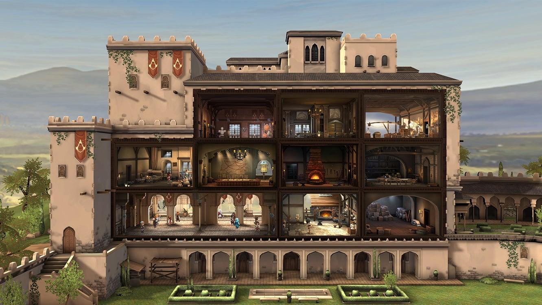 Spielausschnitt von Assassin's Creed Rebellion