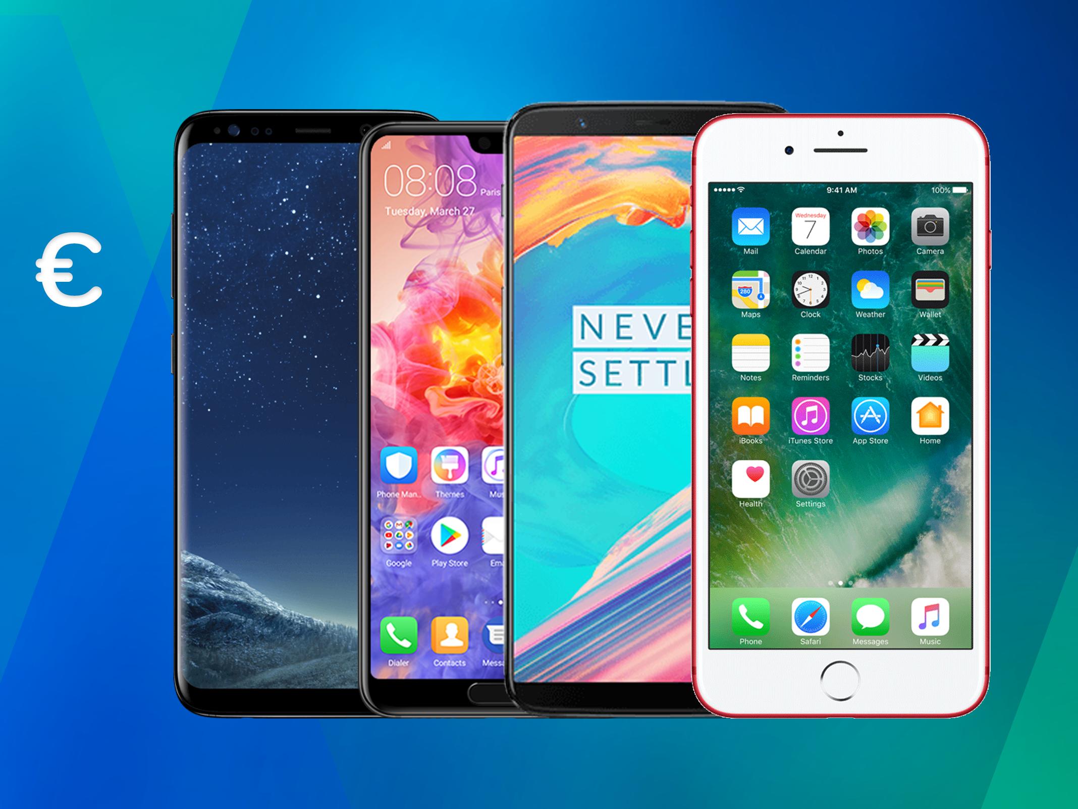Die besten Handys und Smartphones für unter 500 Euro