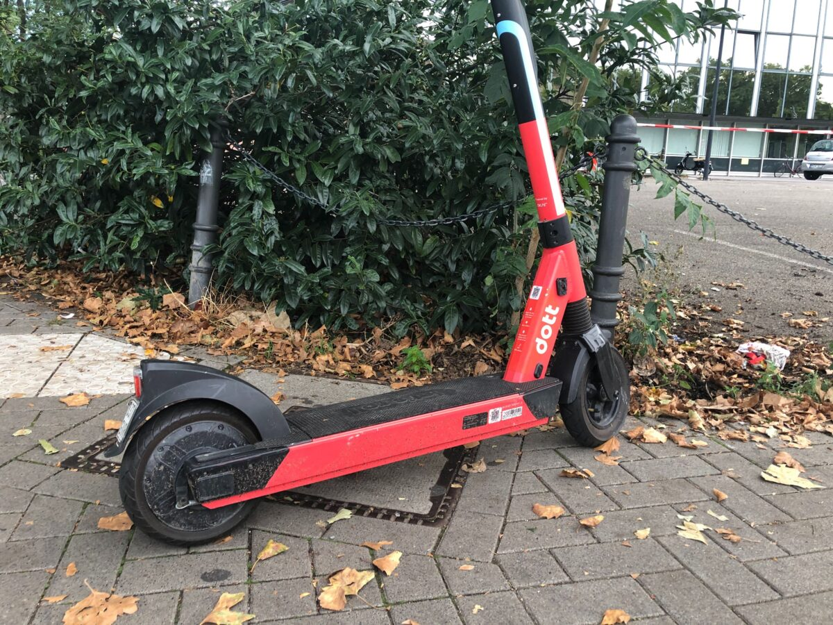 dott scooter in köln