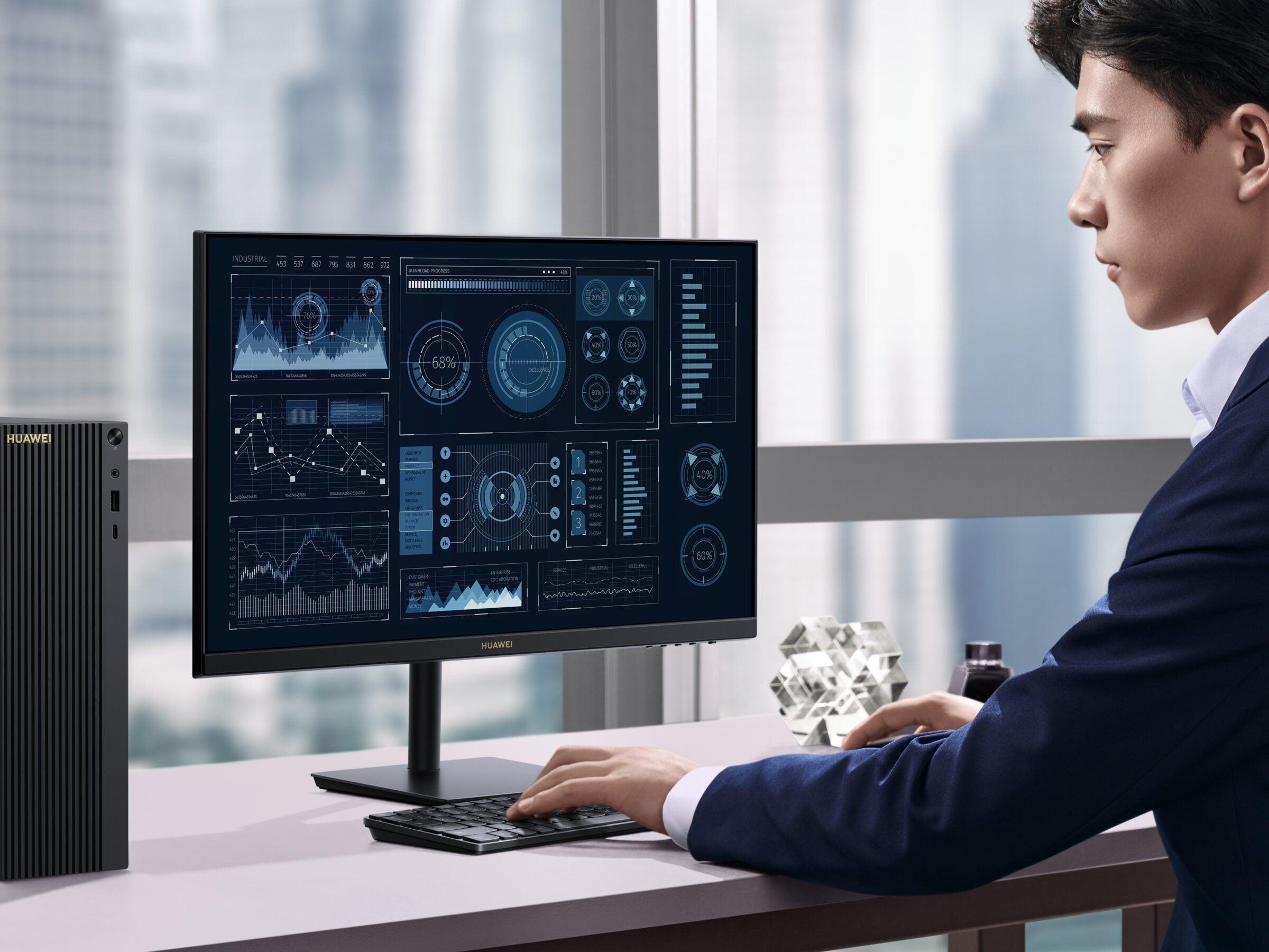 Das neue Huawei Display