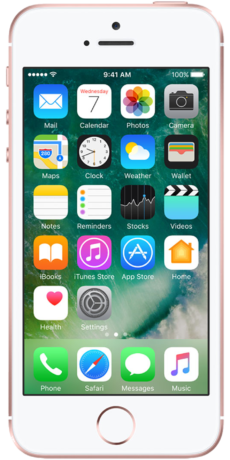 Apple iPhone SE Datenblatt - Foto des Apple iPhone SE
