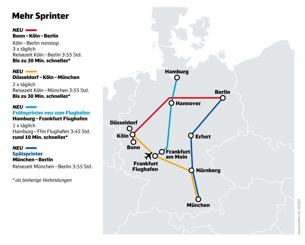 Neue ICE-Sprinter im Bahn-Netz