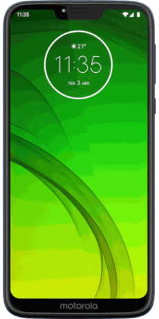 Motorola Moto G7 Power Datenblatt - Foto des Motorola Moto G7 Power