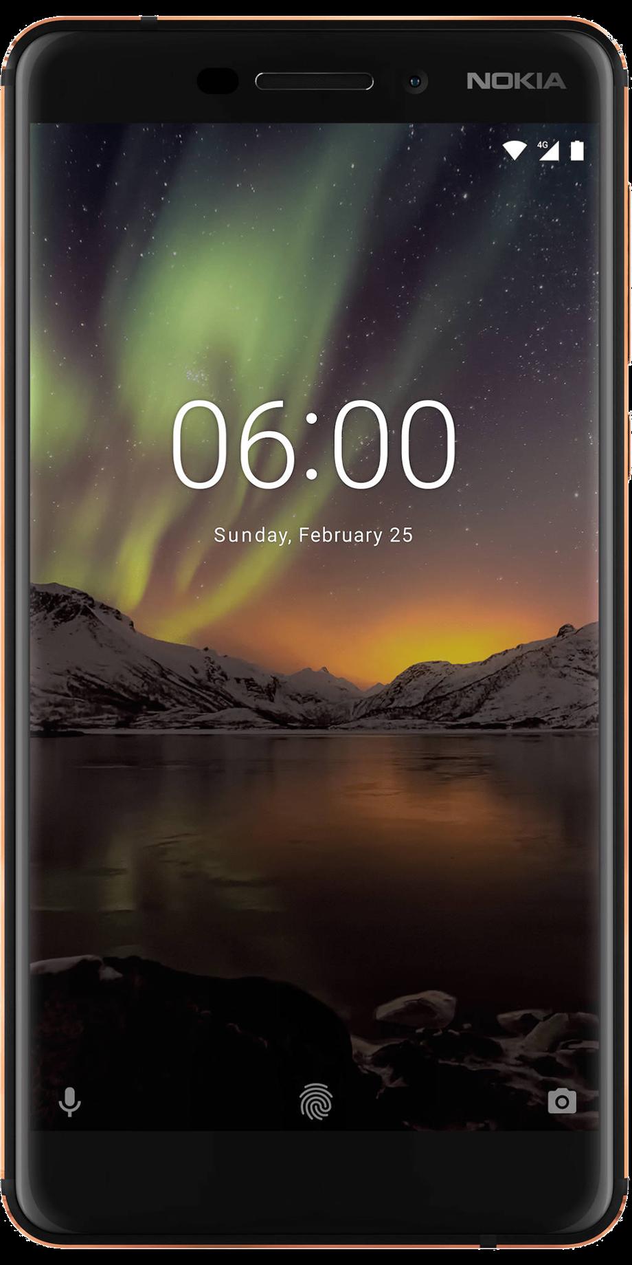 Bild des Nokia 6.1