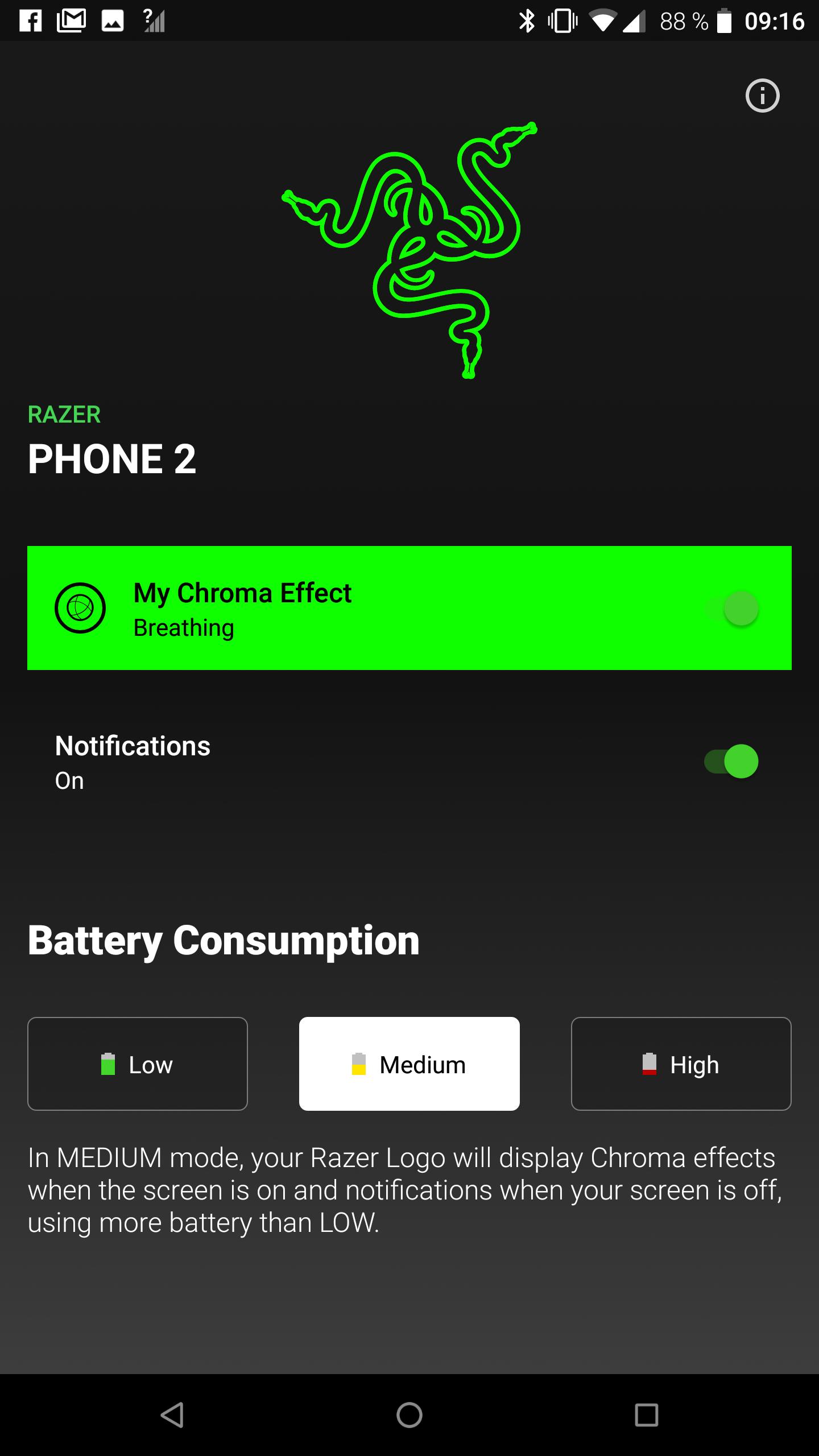 Das ChromaKit des Razer Phone 2