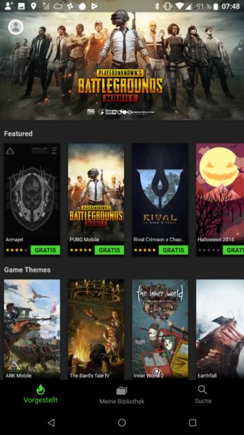 Der Theme Store des Razer Phones 2