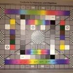 Der Referenz-Chart, aufgenommen mit Blitz mit dem Razer Phone 2