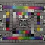 Der Referenz-Chart, aufgenommen ohne Blitz mit dem Razer Phone 2
