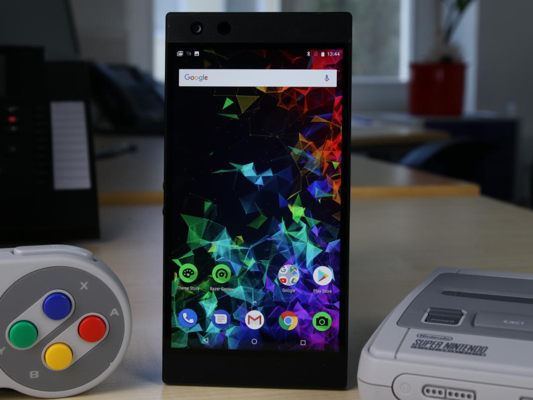 Das Razer Phone 2 hat noch ein LCD-Panel