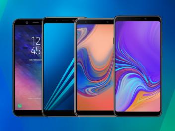 Das Samsung Galaxy A6, A7, A8 und A9 (2018)