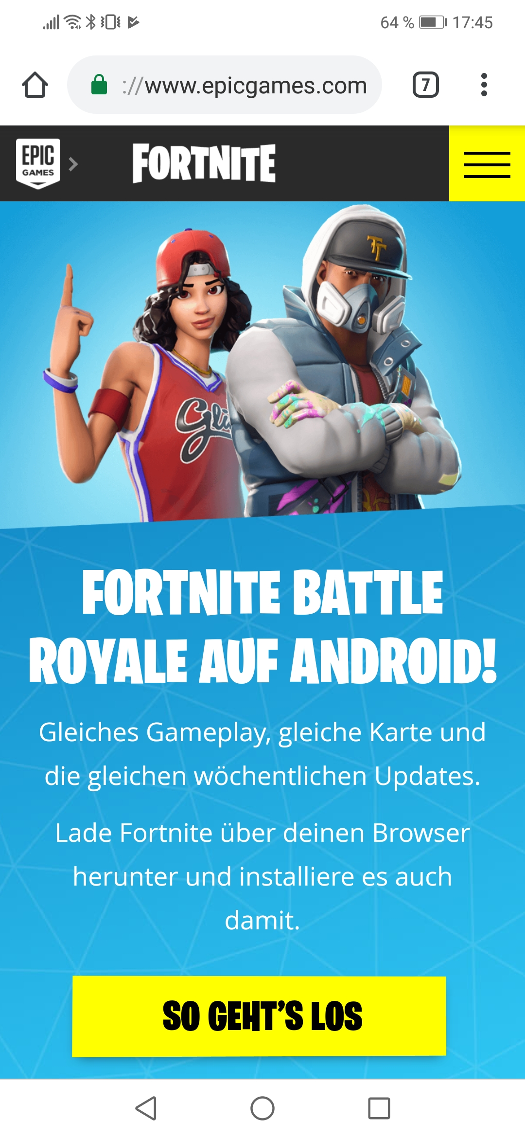 Fortnite Installieren