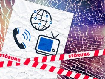 Allgemeine Störung bei Internet, Telefon und/oder TV