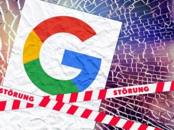 Störung bei Google