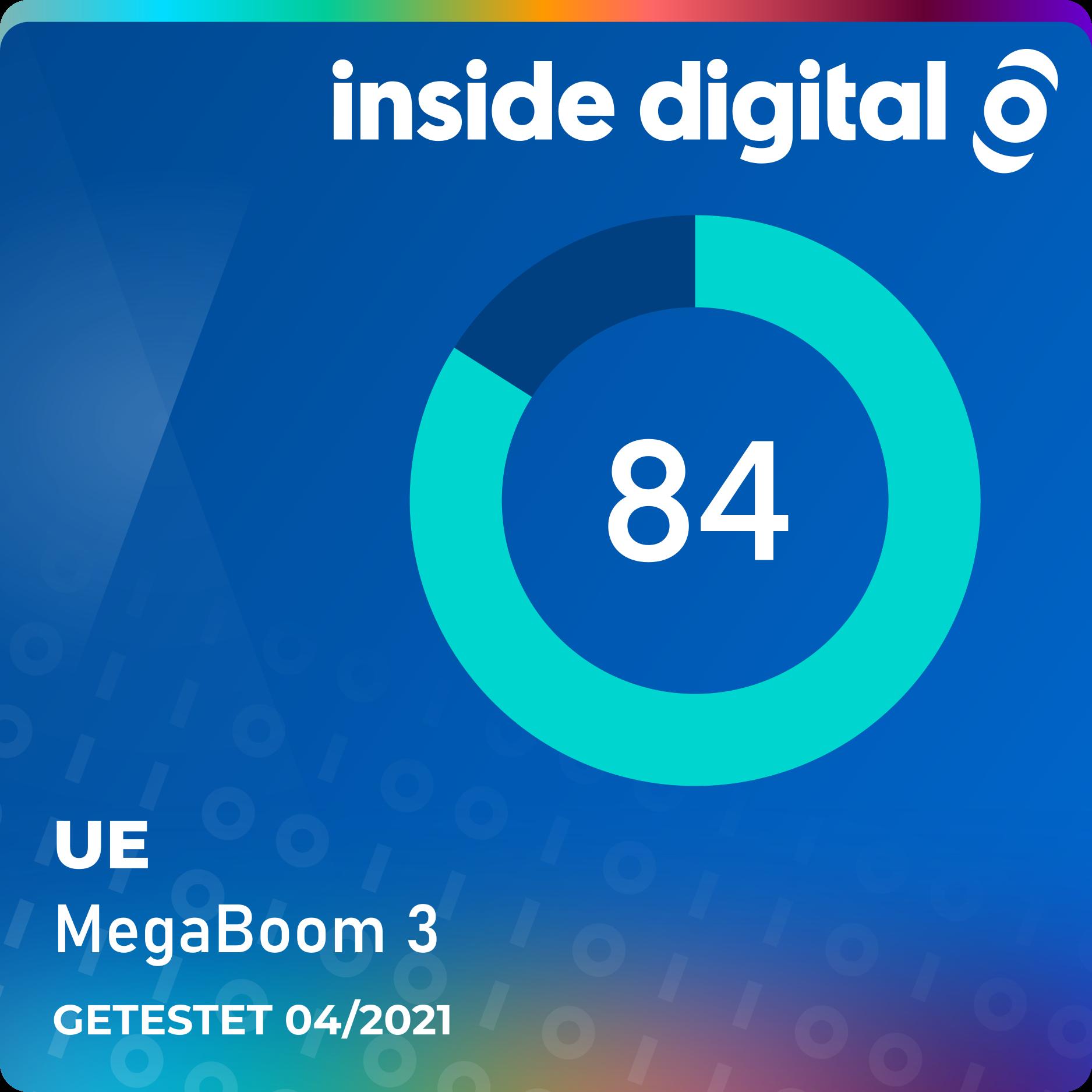 UE MegaBoom 3 im Test