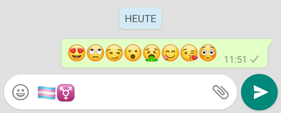 Whatsapp versteckte smileys