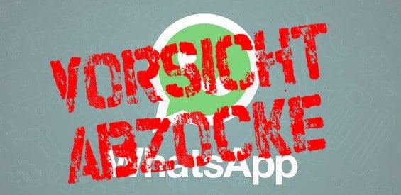 Abzocke WhatsApp