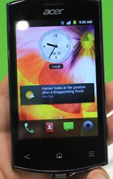 ACER Liquid Express E320 Datenblatt - Foto des ACER Liquid Express E320