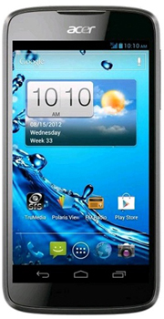 ACER Liquid Gallant Datenblatt - Foto des ACER Liquid Gallant