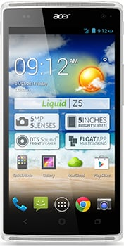 ACER Liquid Z5 Duo Datenblatt - Foto des ACER Liquid Z5 Duo