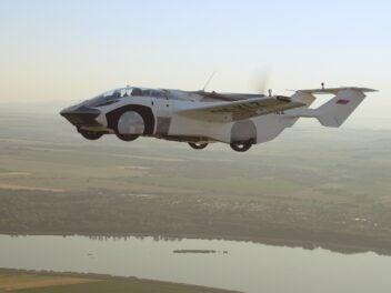Flugzeug-Auto-Hybrid