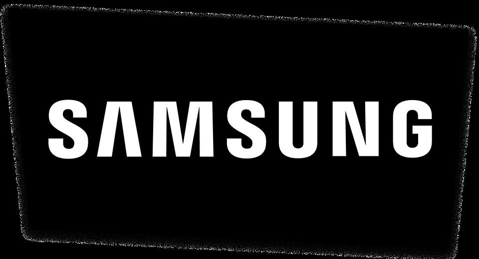 der Samsung Electronics GmbH, Schwalbach/Ts. Logo