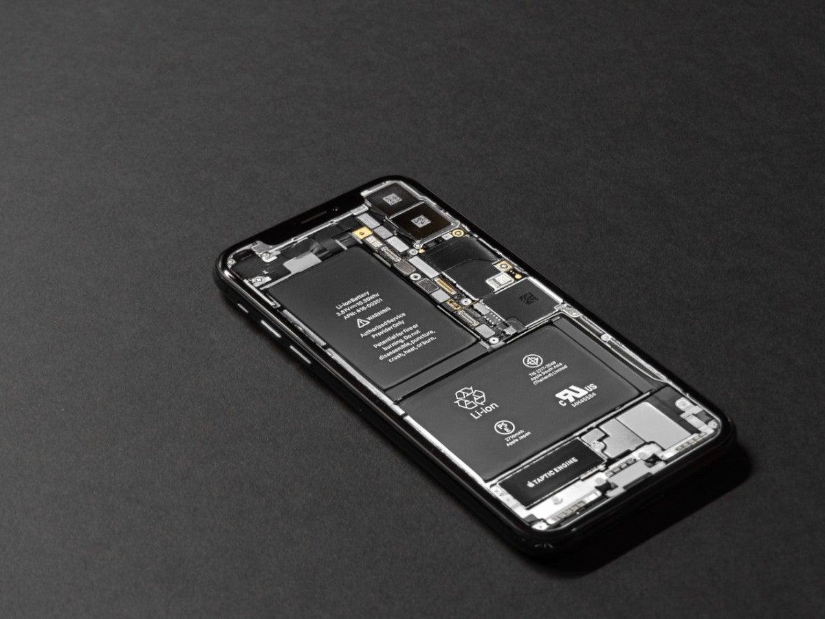 Modulares Smartphone mit austauschbarem Akku