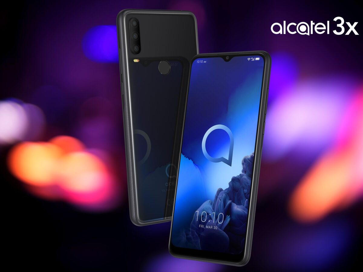 Alcatel 3X (2019) in Schwarz