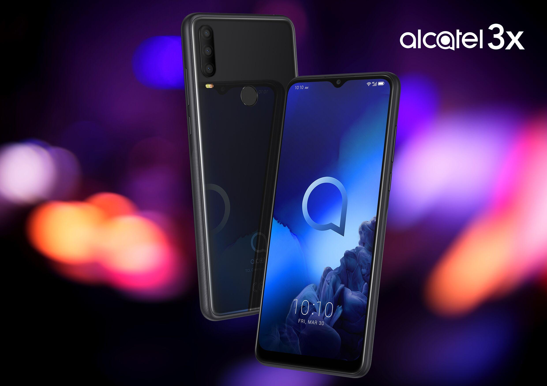 Alcatel 3X (2019) in Schwarz