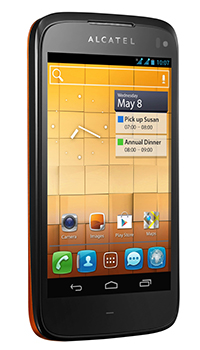 Alcatel One Touch 998 Datenblatt - Foto des Alcatel One Touch 998