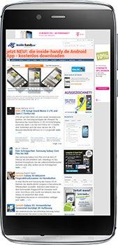 Alcatel One Touch Idol Alpha Datenblatt - Foto des Alcatel One Touch Idol Alpha