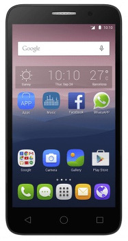 Alcatel One Touch Pop 3 (5,5) LTE Datenblatt - Foto des Alcatel One Touch Pop 3 (5,5) LTE