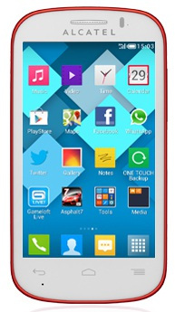 Alcatel One Touch Pop C3 Datenblatt - Foto des Alcatel One Touch Pop C3