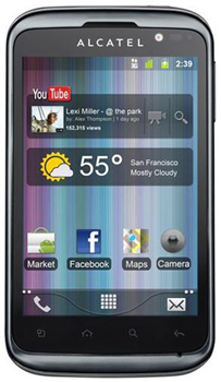 Alcatel One Touch Smart 991D Datenblatt - Foto des Alcatel One Touch Smart 991D