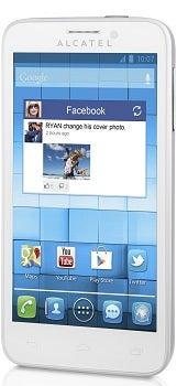 Alcatel One Touch Snap Datenblatt - Foto des Alcatel One Touch Snap