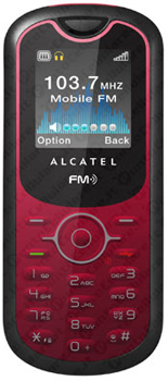 Alcatel OT-206 Datenblatt - Foto des Alcatel OT-206