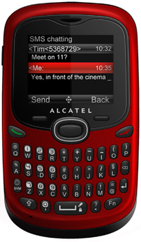 Alcatel OT-255 Datenblatt - Foto des Alcatel OT-255