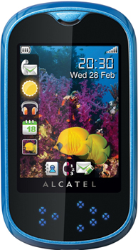 Alcatel OT-708 Datenblatt - Foto des Alcatel OT-708