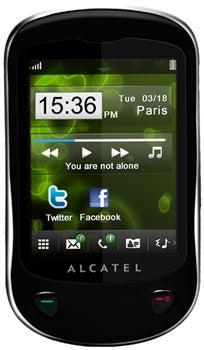 Alcatel OT-710 Datenblatt - Foto des Alcatel OT-710