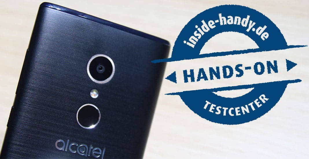 Alcatel-Smartphones im Hands-On