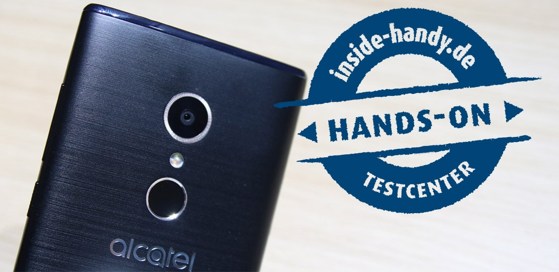 Alcatel-Smartphones im Hands-On