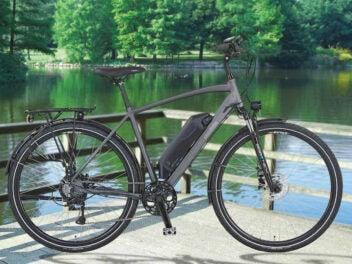 E-Bike von Prophete in der Seitenansicht
