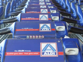 Einkaufswagen von Aldi