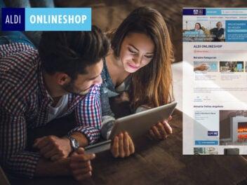Symbolbild für den Aldi Onlineshop